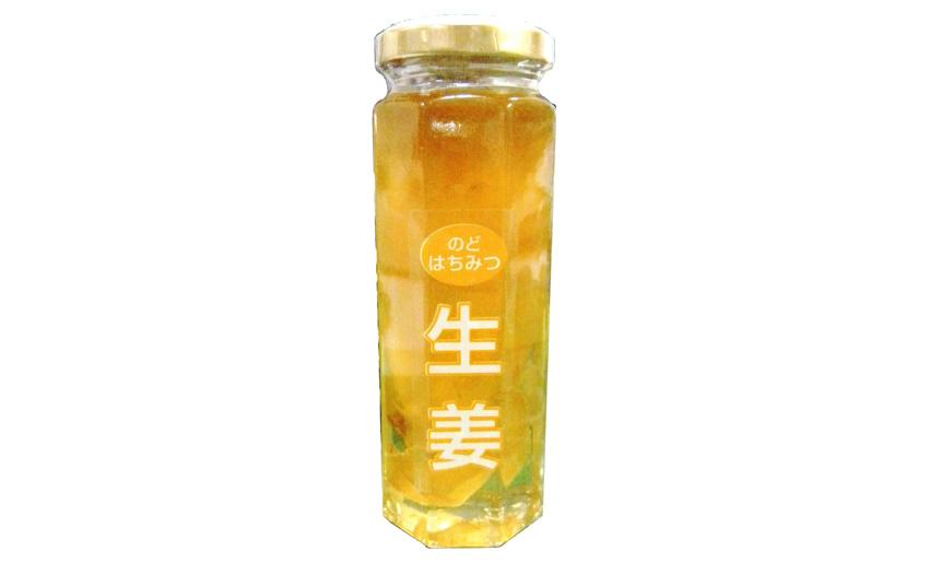 生姜のどはちみつ 信州自然王国 環境栽培