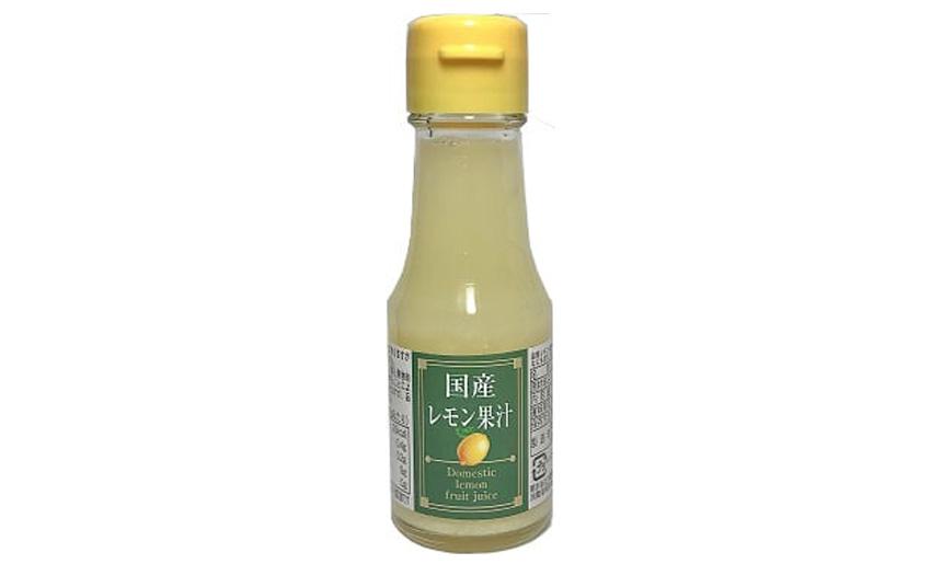 国産レモン果汁 信州自然王国