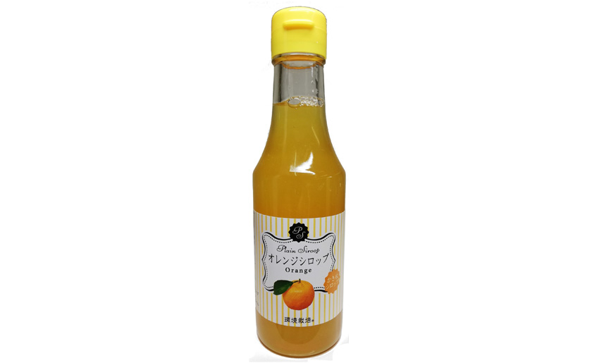 かき氷 オレンジシロップ 信州自然王国 環境栽培